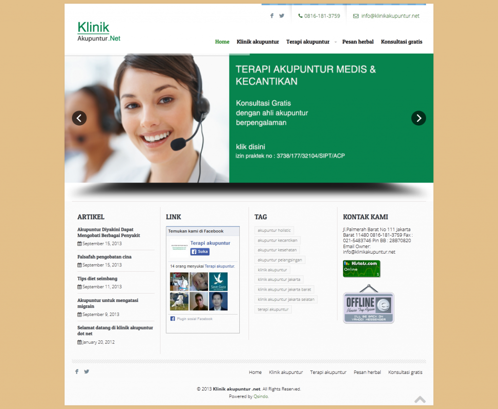 klinikakupuntur.net